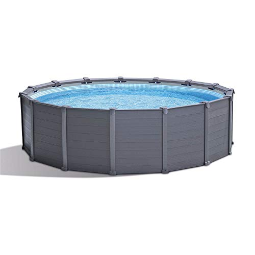 """Intex 15'8"""" x 49"""" Ultra Frame Above Ground Swimming Pool Set with Pump & Ladder"""