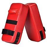 Wuudi PU Saco De Boxeo 40cm*20cm*10cm Almohadilla De Choque Cojín Kick Para Boxeo...