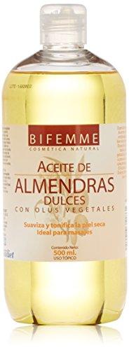 Bifemme Aceite almendras dulces - 500 ml