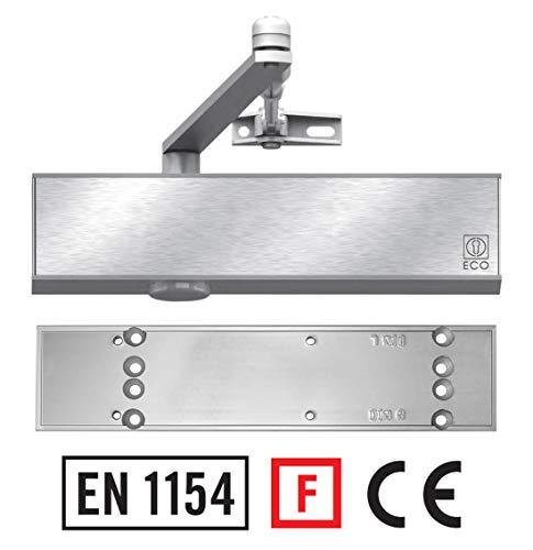 Türschließer TS-50 mit Montageplatte Brandschutz zertifiziert Türdämpfer