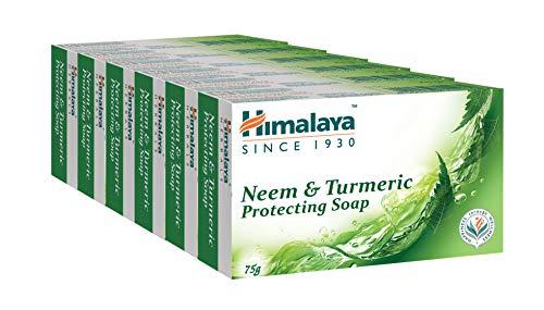 Himalaya Herbals – Neem & Kurkuma Seife, 6 x 75 g Riegel