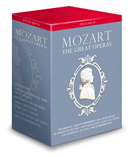 MOZART: The Great Operas [13 DVDs]