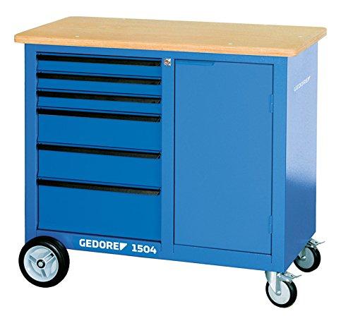 GEDORE 1504 0321 Rollwerkbank mit 6 Schubladen