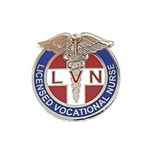 911 Market Licensed Vocational Nurse Lapel Pin LVN Clinic Hospital RN Nursing Emergency - A 65