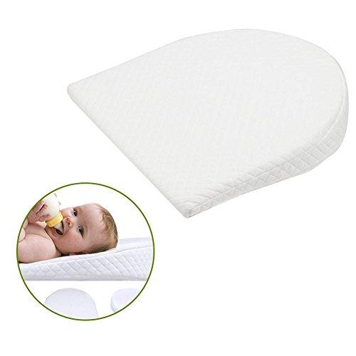 Zexa Cuscino Anti-reflusso per Il Cuscino del Latte del Cuscino Rimovibile in Cotone Rimovibile con Cuscino per Bambino