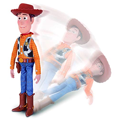 Sheriff Woody With Interactive Drop-down Action (Toy Story Disney Pixar 4)