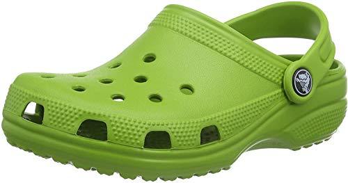 Crocs Classic Kids, Zuecos Unisex Niños, Verde (Parrot Green), 22/24 EU