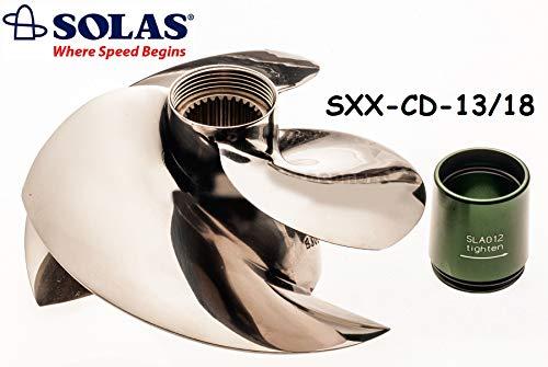 SOLAS Sea Doo 4-Tec 300 HP Impeller SXX-CD-13/18 RXPX RXTX GTX Limited 2016-2020
