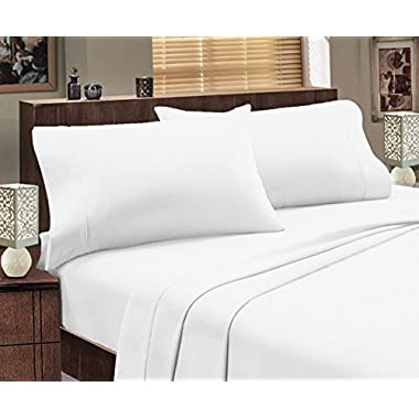 Mayfair Linen Hotel Collection 100% Egyptian Cotton- Genuine 800 Thread Count Sheet Set King White
