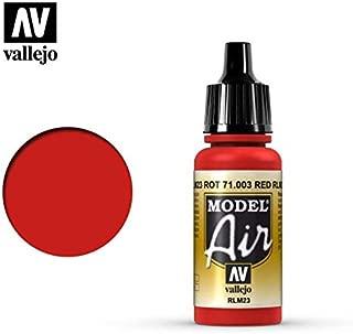 Vallejo Scarlet Red Paint, 17ml