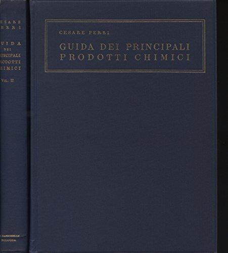 Guida dei principali prodotti chimici (2 volumi)