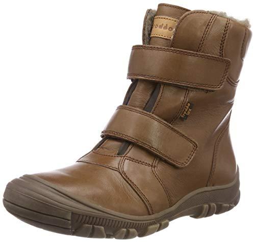 Froddo Unisex-Kinder Kids Ankle Boot G3110121-4 Schneestiefel, Braun (Brown I07), 39 EU