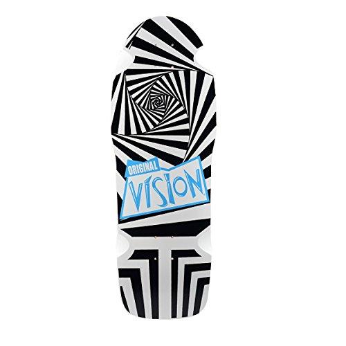 Vision Original Neuauflage Skateboard Deck 25,4x 76,2cm, schwarz/weiß
