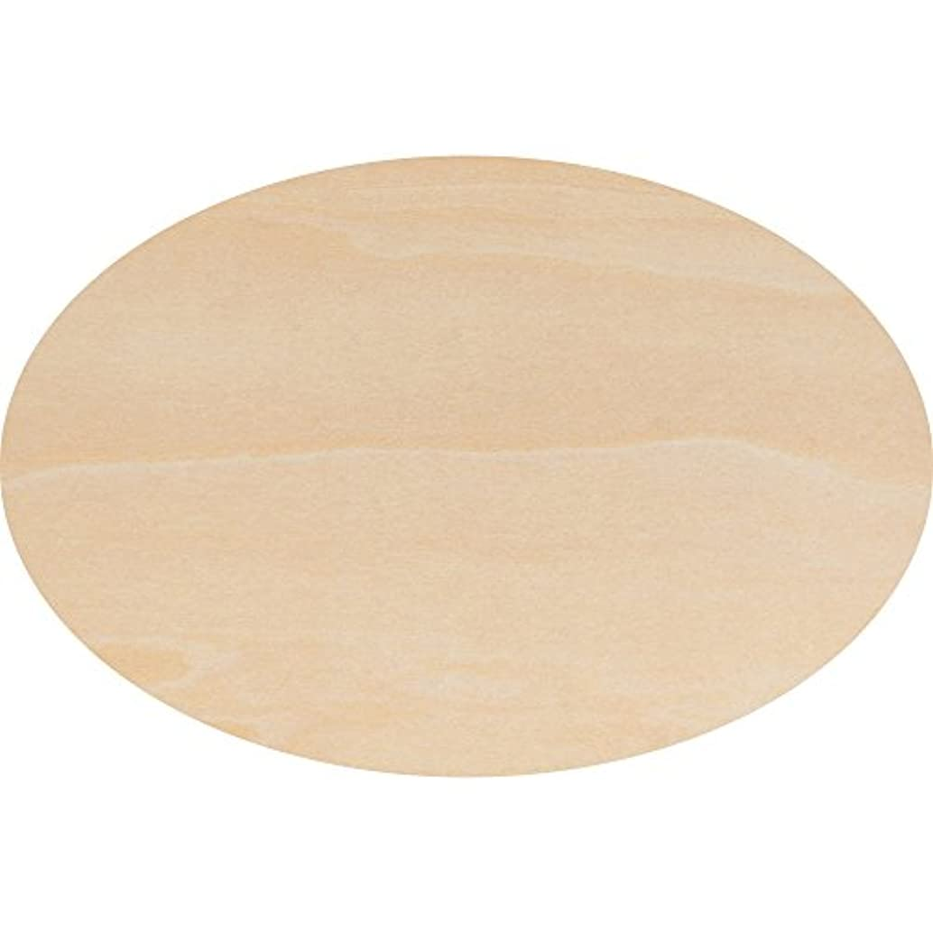 Wooden Oval Cutout 8.5