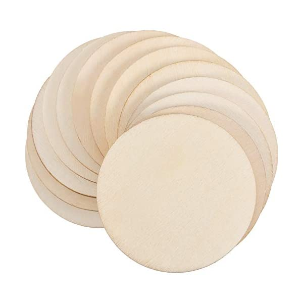 Boao 100 Packs 2 Inch Round Disc