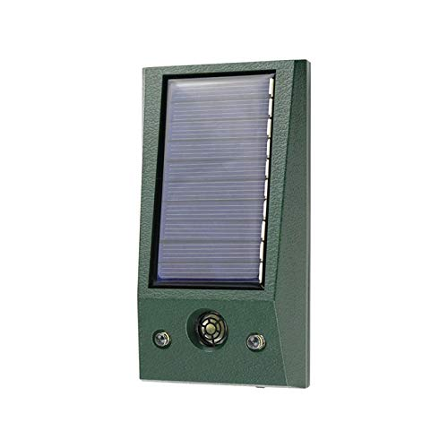 Solar Animal Repeller Drove Cats, Deer, Dogs, Squirrels, Koalas, mice, Raccoons, Wolverines, Rabbits, and Foxes…