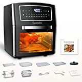 CalmDo Air Fryer Oven 12L, Grill, Convection Oven, Dehydrator, Toaster, Frying Pan, Digital