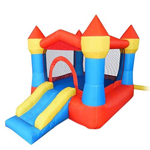 Zhihao Aufblasbare Hüpfburg, Kinder Hüpfburg Slide, Haus Schloss, Außen Frech Castle, Innen- und Außentrampolin, Trampolin, Geeignet for Unterhaltung for Kinder