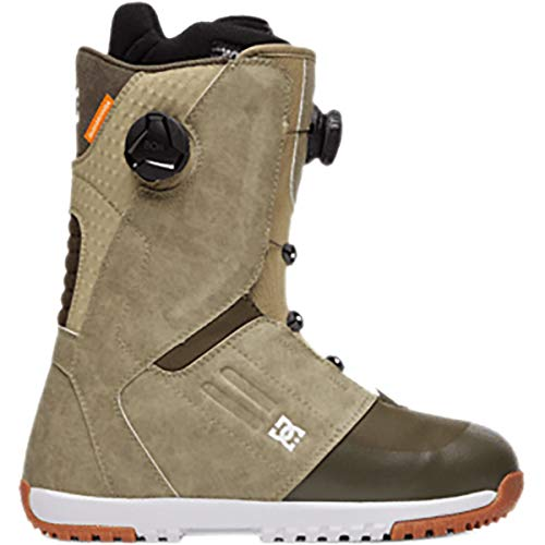 DC Control BOA Mens Snowboard Boots Tan Sz 10