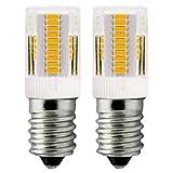 ZHENMING - Lampadina LED E14 Luce Bianca Calda 12V 2W per Dispositivi Mobili, Luce Notturna Camper Barche Camion Ricambio 10W- 20W Lampadina Alogena (Non 230V Lampadine LED), Confezione da 2