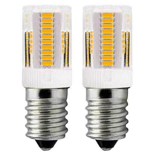 ZHENMING LED E14 Lampen Warmweiß 12V 2W Beleuchtung für Mobile Geräte, Nachtlicht Wohnwagen Boote LKW Ersatz 10W 15W 20W Halogen Glühbirne (Nicht 230V LED-Leuchtmittel), 2er-Pack [MEHRWEG]