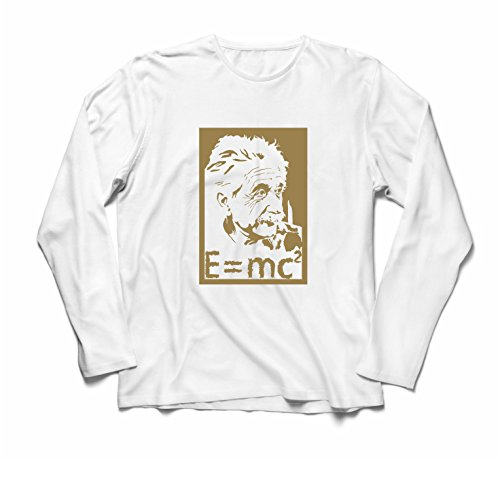 lepni.me Heren T-Shirt Natuurkunde Wetenschappers Albert Einstein, Science Lover Gift