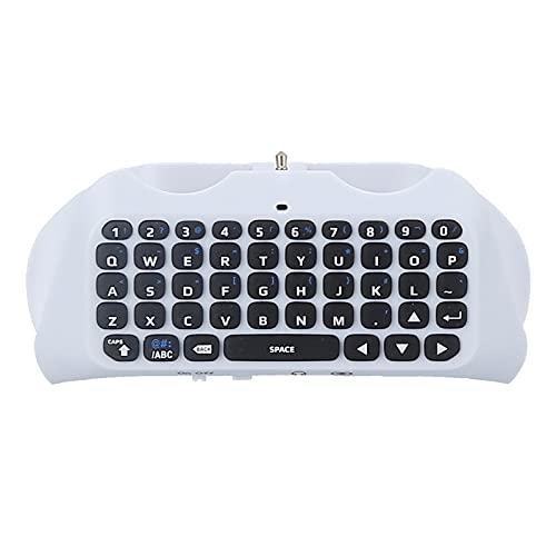 Teclado Controlador Inalámbrico Mini Teclado Controlador QWERTY con Conector De Audio/Auriculares para Mensajería Y Juegos Chat En Vivo