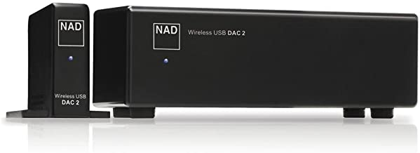 NAD DAC 2 Wireless 24Bit/192kHz USB Digital-to-Analog Converter
