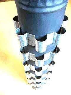6 Stovepipe Heat Reclaimer Radiator Rings, 4