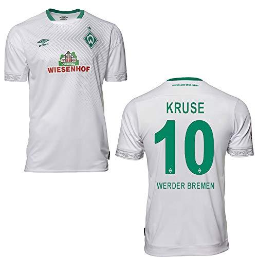 UMBRO SV Werder Bremen Trikot 3rd Kinder 2019 - Kruse 10, Größe:YXL (158)