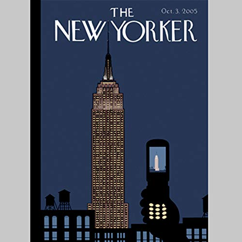 The New Yorker (Oct. 3, 2005) audiobook cover art