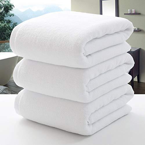 A+TTXH+L Super Doux Towels 100 * 200cm Cotton Hôtel Spa Serviette de Bain Grande Plage Marque de Serviette for Adultes Salon de beauté Home Textile Salle de Bain Mer