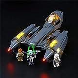 LIGHTAILING Conjunto de Luces (Star Wars Caza Estelar del General Grievous) Modelo de Construcción de Bloques - Kit de luz LED Compatible con Lego 75286 (NO Incluido en el Modelo)