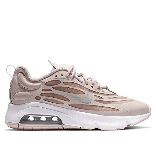 Nike W Air MAX EXOSENSE, Zapatillas para Correr Mujer, Barely Rose Stone Mauve White Metallic Silver, 35.5 EU