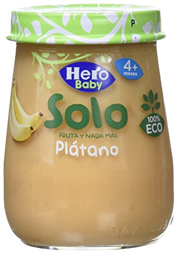 Hero Solo Tarrito Fruta Plátano Eco - 120 gr