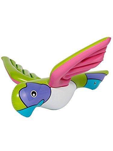 Aufblasbarer Papagei von Folat // Deko Mottoparty Party Geburtstag Kindergeburtstag aufblasbar inflatable Parrot Urwald Vogel