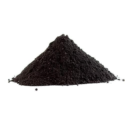 Eisenoxid Pulver Trockenfarbe Oxidfarbe Pigmentfarbe Pigmentpulver für Beton Estrich Zement Gips Putz Epoxidharz Boden Wand Garage etc. Schwarz - 10Kg (2x5Kg)