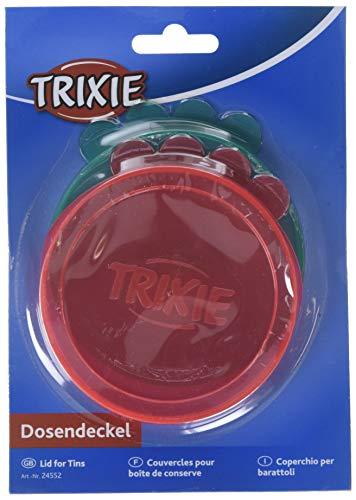 Trixie 3Piezas Tapas para latas, 7,6cm de diámetro