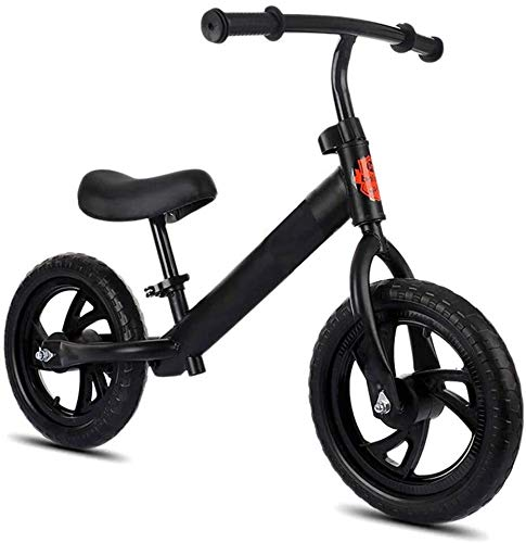 YYhkeby Scooter de Bicicletas de Bicicletas de Balance de niños de 12 Pulgadas sin Pedales para Que los niños aprendan a Deslizar Bicicletas con Dos Ruedas/Amarillo Jialele