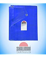 Shalimar Gold Virgin HDPE Tarpaulin 200 GSM Blue Size (18ft x 30ft) (Size Includes Reinforced Edges on All Four Sides for Extra Strength)