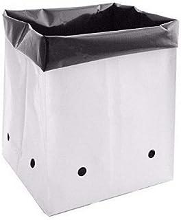 VINAYAKAMART Poly Grow Bag, Black, 16X16X30 CM