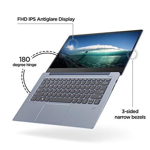 Lenovo Ideapad 530s Intel Core i5 8th Gen 14-inch Full HD Thin & Light Laptop (8GB RAM/512GB SSD/ 2GB Nvidia Graphics /Windows 10 Home / MS Office H&S 2016 / Liquid Blue /1.49kg), 81EU00E1IN