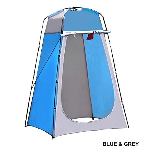 LIXONG Pop Up Toilet Tent Shower Tent for Camping Beach Outdoor Camping Toilet Tent Portable Privacy Changing Tent with Carrying Bag 120x120x190【±2】 cm