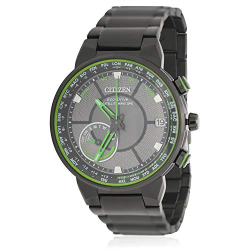 Citizen Reloj de Hombre Eco-Drive Correa de Acero Chapado Ion CC3035-50E