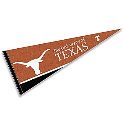 College Flags & Banners Co. Texas Longhorns Pennant Full Size Felt