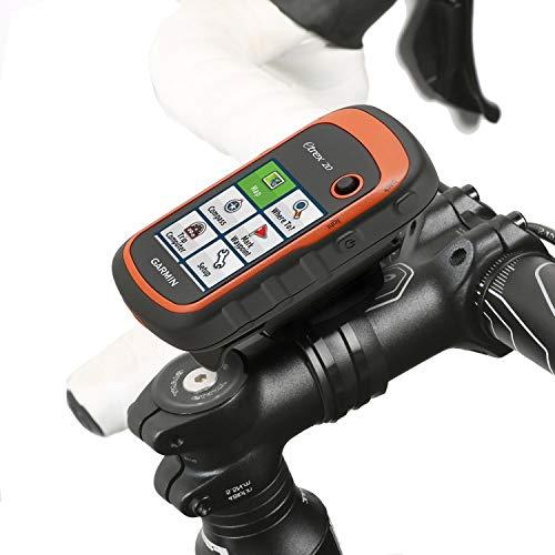 Wicked Chili Fahrrad Halterung kompatibel mit Garmin eTrex, Dakota, Oregon, Approach, Astro, GPSMAP (passgenau, QuickFix, mit wiederverschließbaren Kabelbinder, Made in Germany) schwarz