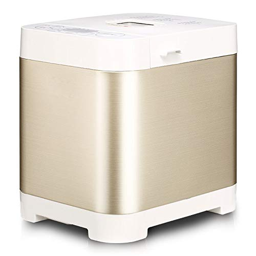 Review LY88 Automatic Bread Maker Stainless Steel Bread Maker with 18 Menus Fully Automatic Touch Br...