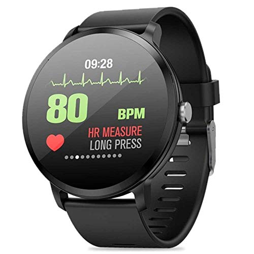 KOBWA Smartwatch,Upgrated Fitness Tracker Wasserdichtes IP67 mit 1,3 Zoll Touchscreen, Herzfrequenz- und Blutdruckmessgerät mit Activity Tracker-Pedometer für Android IOS