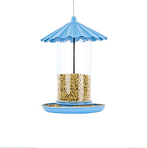 GAODINGD Comederos para pájaros Alimentador de Aves Alimentador de Aves Silvestres Colgante para jardín Exterior Decoración de decoración Ideas de Regalo para Amantes de los pájaros