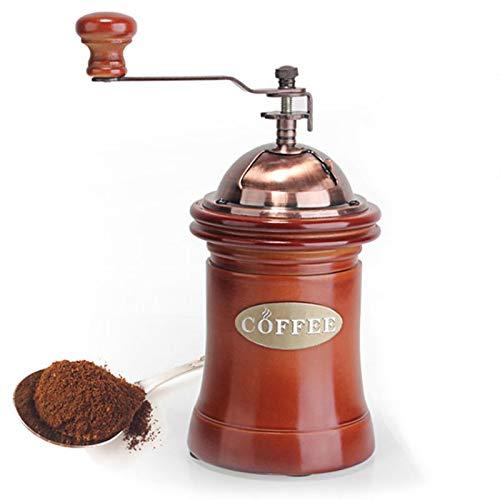 Liuying Manuelle Kaffeemühle aus Edelstahl mit Kurbel und Keramik.